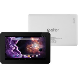 """TABLET 7"""" HD QUAD CORE 1,2GHZ 512MB DDR3 8GB ANDROID 5.1 (BRANCO) - E-STAR"""
