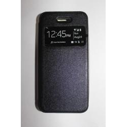 Capa Flipcover preta para iphone 5/5S/SE